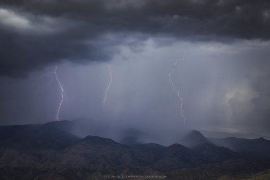Landscape photography from Bradshaw mountains in Arizona