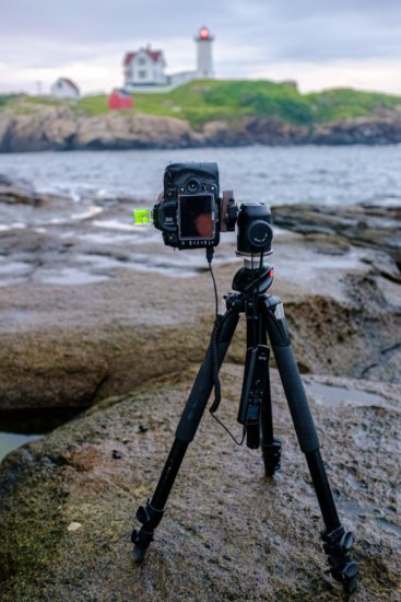 Tripod for Travel Photography with a camera by Ugo Cei
