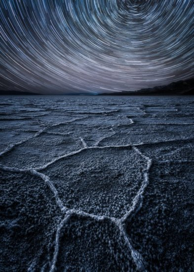 Start trails in Death Valley National Park by Austin Jackson