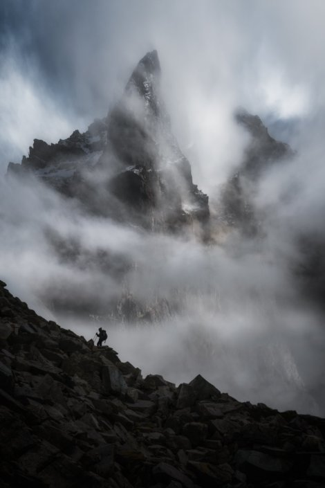 Atmospheric landscape photography by Austin James Jackson