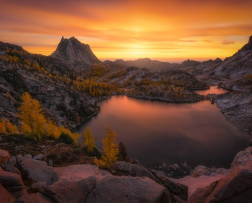 Cover for landscape photography blog post about post processing mistakes by Austin Jackson
