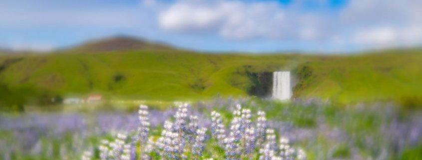Landscape photography with Lensbaby Velvet 56 at Skogafoss, Iceland by Jay Patel