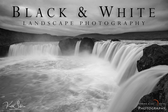 Black and White Landscape Photography Tutorial Cover by Kate Silvia