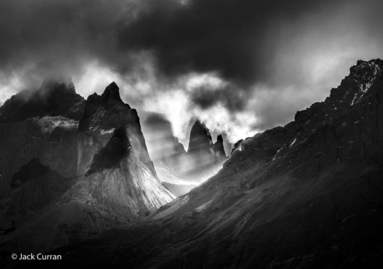 Black & White Landscape Photography from Patagonia, Chile by Jack Curran