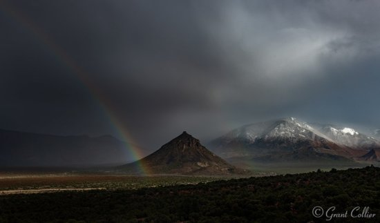 Rainbow over Utah by Grant Collier