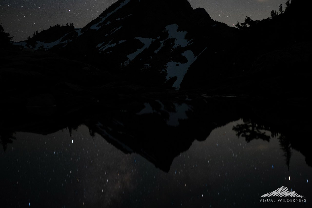Milky Way Night Photography Case Study for Mountain - Base