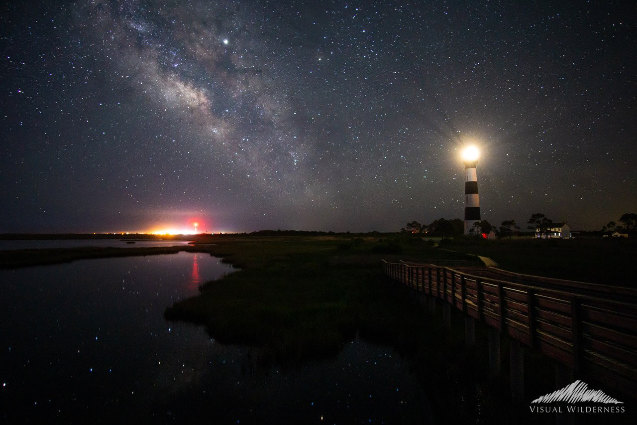 Night Photography showing textures and colors of Milky Way by David Johnston