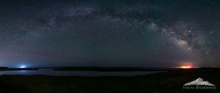Milky Way Panorama by David Johnston