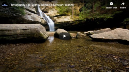 Landscape photography using circular polarizer by Jay Patel