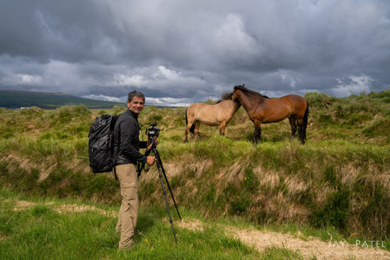Landscape photographer Jay Patel testing out new Shimoda Bag design in Iceland
