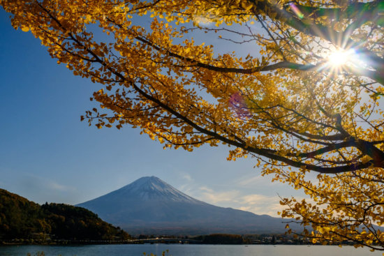 Travel photography at Mt. Fuji, Japan by Ugo Cei