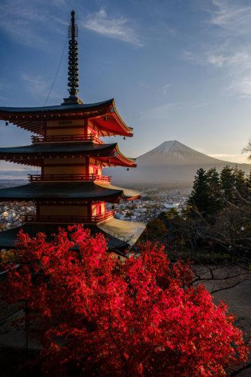 Chureito Pagoda, Shimoyoshida, Japan