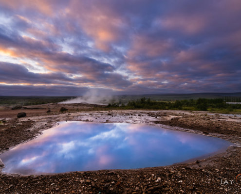 Landscape photography from Geysir, Iceland by Jay Patel
