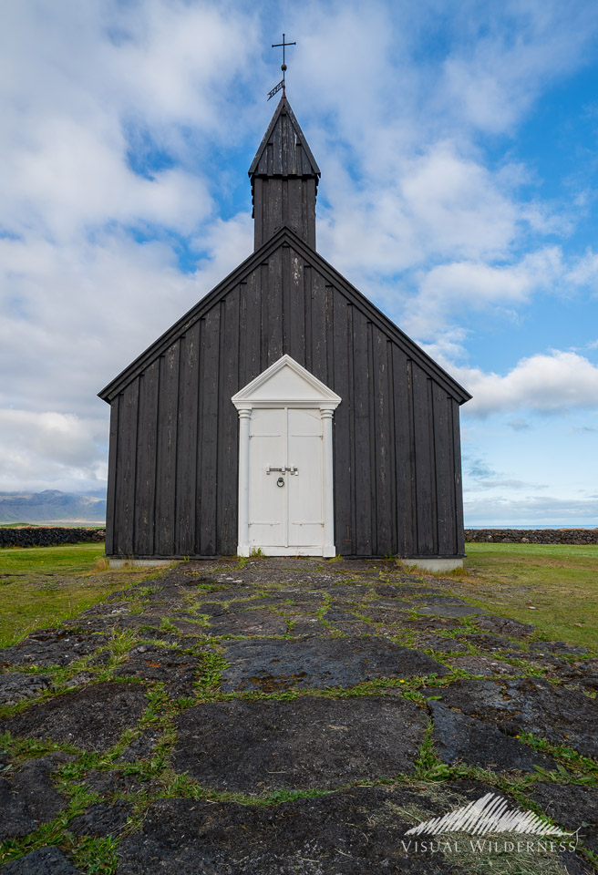 Black Church at Budir, Iceland
