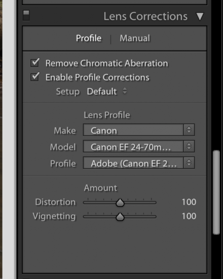 Post processing tips for Lens correction in Lightroom by Lace Andersen