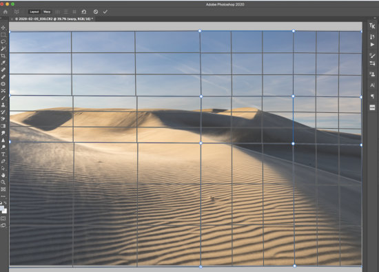 Perspective Correction Tool in Photoshop