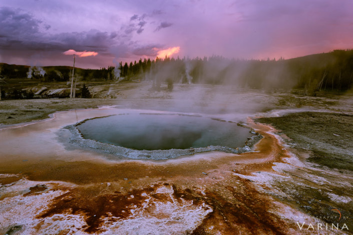 Landscape photos from Yellowstone National Park, Wyoming
