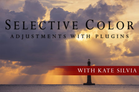 Cover for Selective Color Adjustments with Plugin Class with Kate Silvia