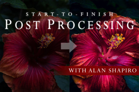 Cover for Start-to-Finish Post Processing with Alan Shapiro