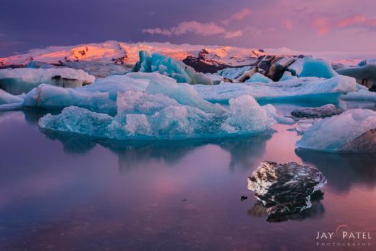 Cold Weather Landscape Photography from Jokusarlon, Iceland by Jay Patel