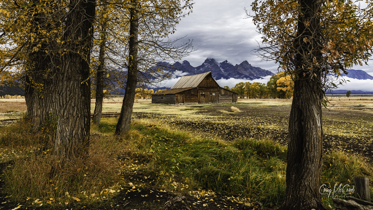 Fall Photography by Craig McCord from Grand Tetons National Park, Wyoming