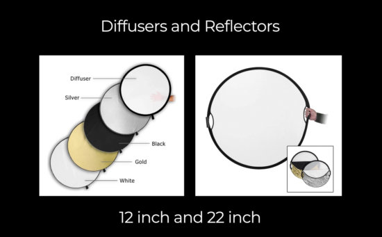 Reflectors and Diffusers for Flower Photography