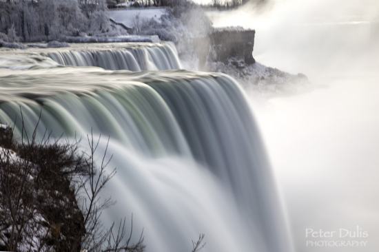 Long exposure travel photography using a tripod from Niagara Falls, Canada by Peter Dulis