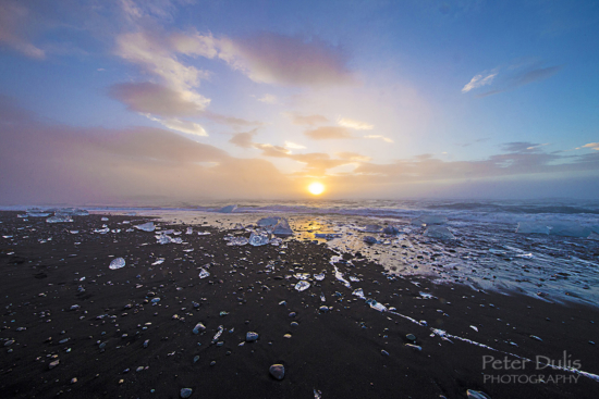 Wide Angle Lens Photography from Jokusarlon, Iceland by Peter Dulis