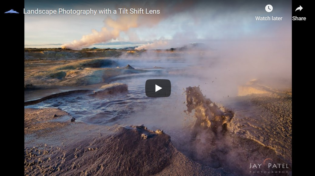 How to use a Tilt-Shift Lens by Pro Nature Photographer Varina Patel