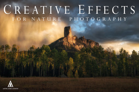 Creative Effects for Nature Photography Tutorial Cover