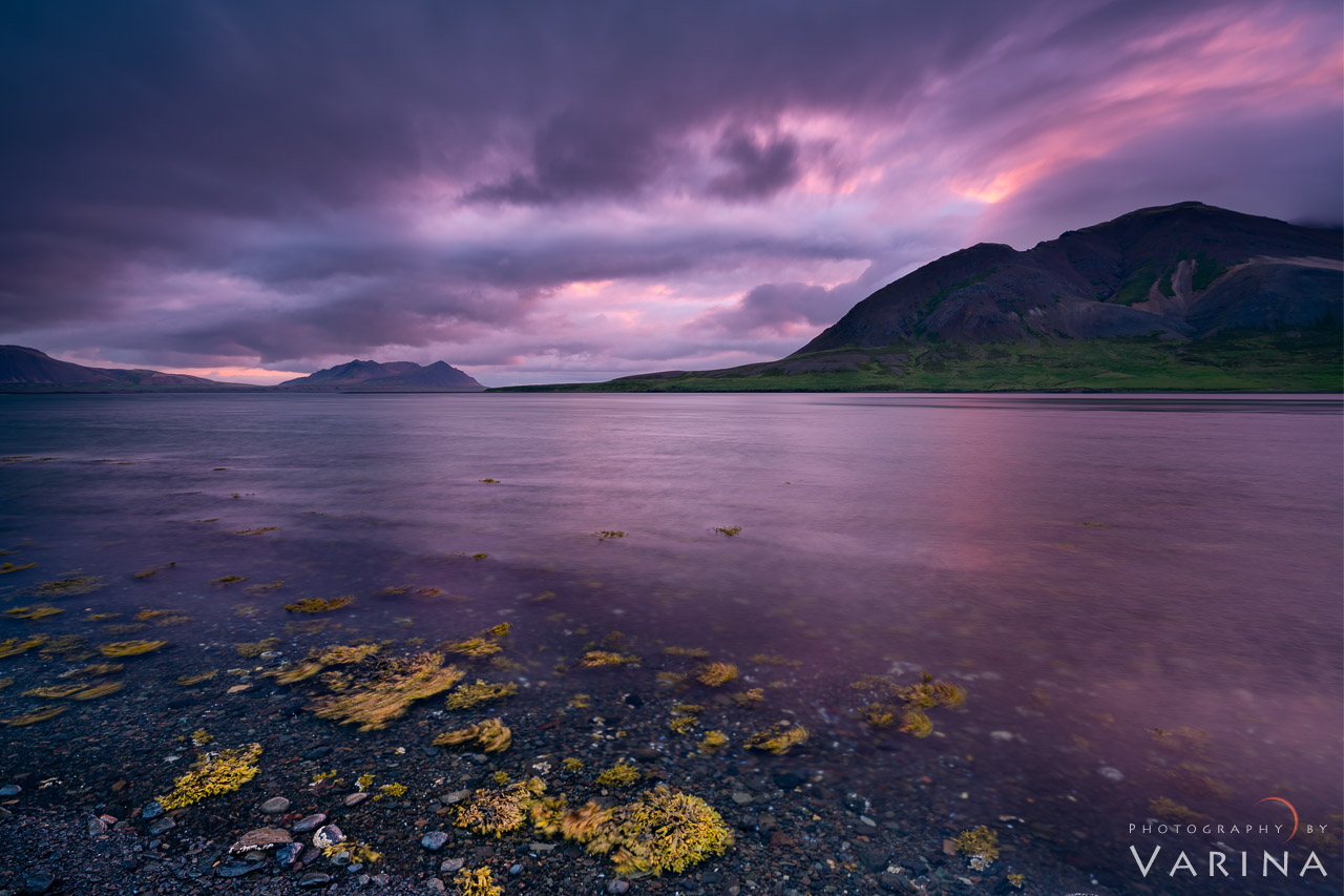 Nature Photography composition using leading lines from Iceland by Varina Patel