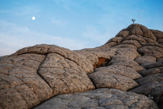 Creating a sense of scale in landscape photography with a human element by Peter Dulis