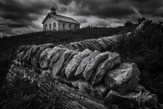 Shadows, textures, form and details in Black and White Photography by Craig McCord