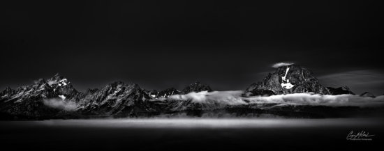 Black and White Photography Panorama by Craig McCord