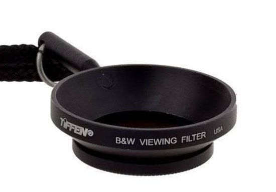 Tiffen viewing filter for black and white photography