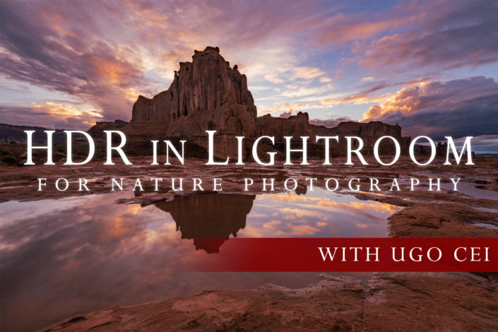 Cover for HDR in Lightroom for Nature Photography