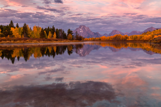 Nature photography from Grand Tetons National Park, Wyoming post processed using NIK Color EFex Pro by Padma Inguva