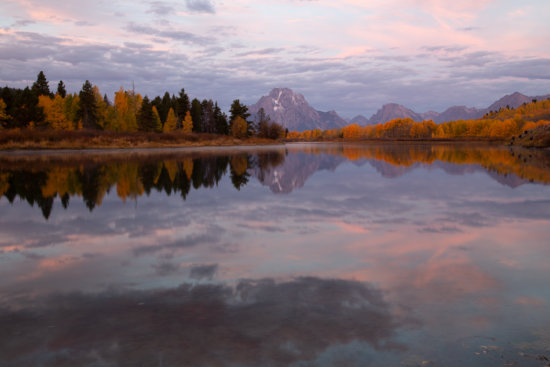 Autumn in Grand Tetons National Park, Wyoming by Padman Inguva
