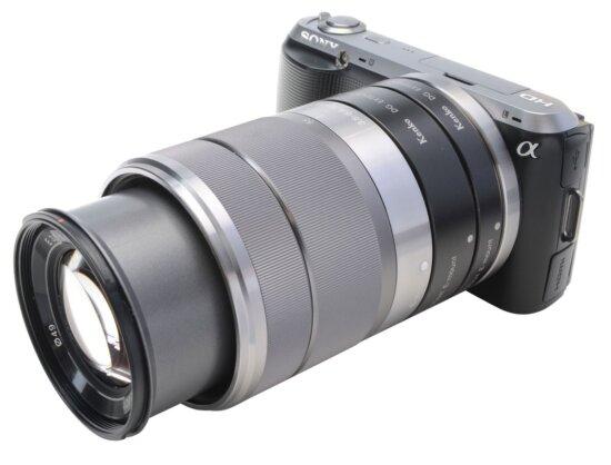 Macro photography equipment - Kenko extension tubes on Sony Alpha