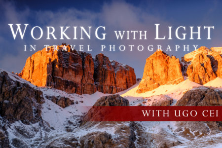 Cover for Working with Light in Travel Photography Online Class by Ugo Cei
